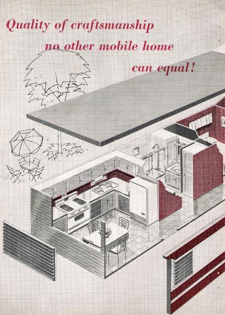 Vintage Literature Reproductions 1959 Skyline Mobile