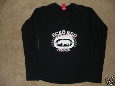 Girls Ecko Unlimited Long Sleeve Shirt Sz: Young Medium