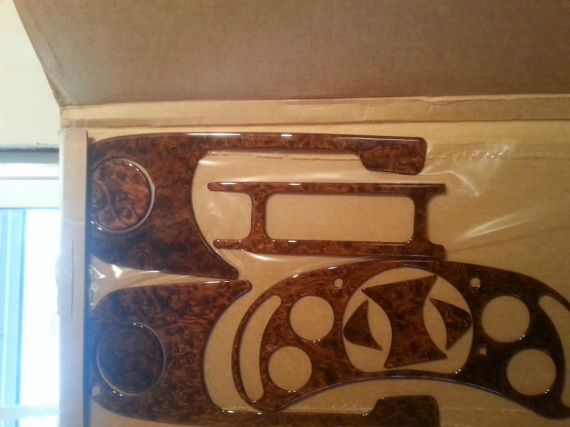 Chevy Chevrolet Avalanche 1996 Wood Interior Trim Dash Kit Ebay