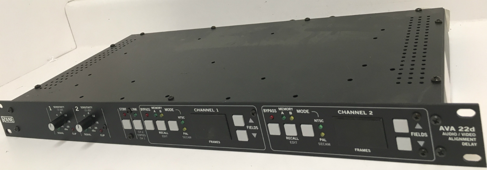 Details about RANE AVA 22d Rack Mountable Audio / Video Alignment Delay
