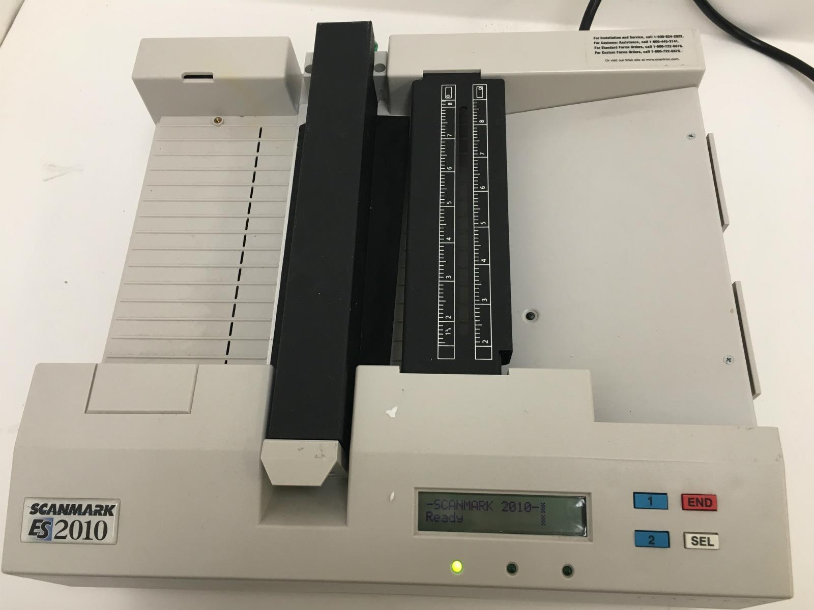 scantron scanmaker es 2010 es2010 optical mark reader scanner ebay rh ebay com