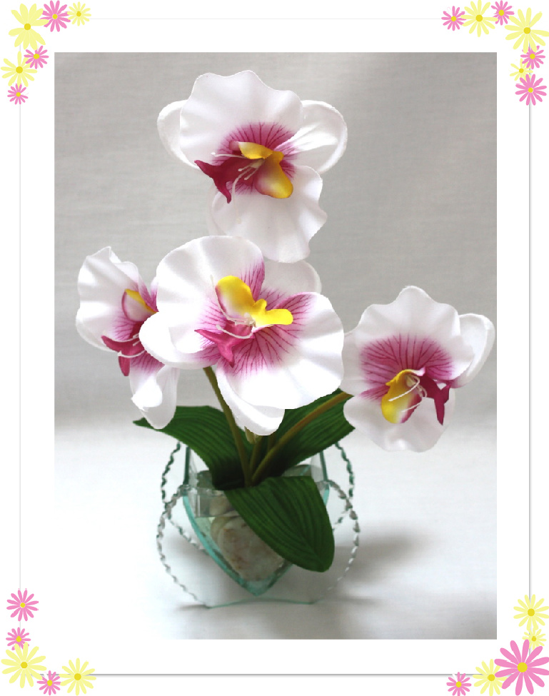 artificial flowers in vase | eBay