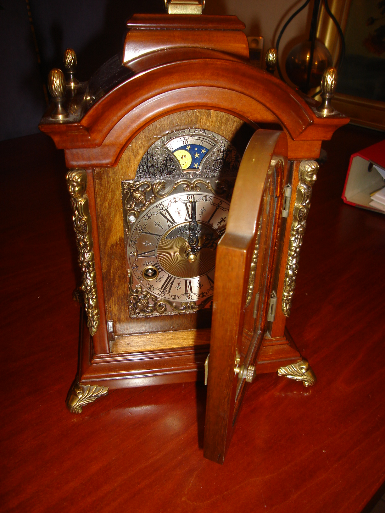 Dutchwallclocks Com Original Warmink Wuba Table Mantle
