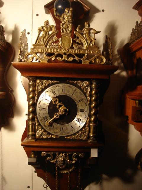 Dutchwallclocks Com Dutch Zaandam Figural Wall Clock