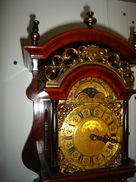 Dutchwallclocks Com Rare Original Wuba Warmink Sallander