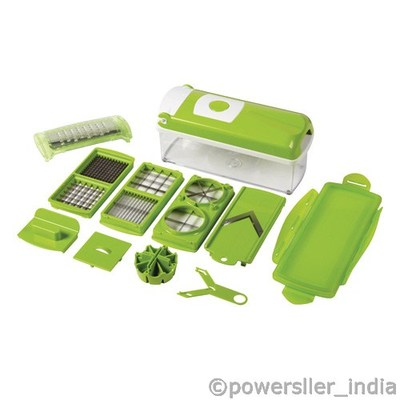 2012 New Nicer Dicer Plus 10 Piece Multi Chopper As Seen On Tv Limited Stock Goodgifts