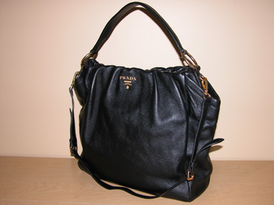 5e56223760a2c Big Black Prada Bag