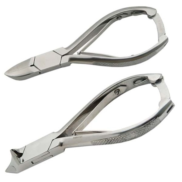 Toe Nail Clipper Moon Shape And Long Jaw With Lock