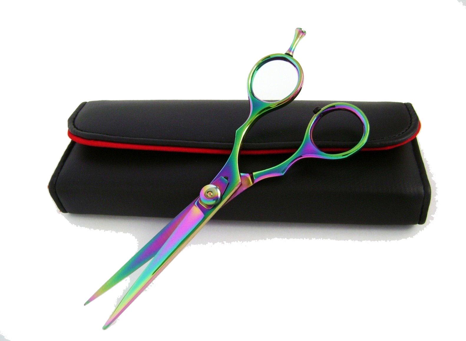 """Barbar Shear 6.5"""" Titanium Hair Cutting Scissor w"""
