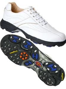 Etonic Golf Shoes White Leather Soft Spikes G