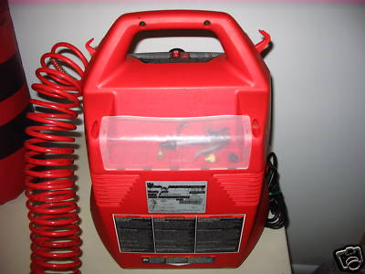 on Husky Easy Air Compressor 1 5 Gal Max 135 Psi Price 35 00 For Sale