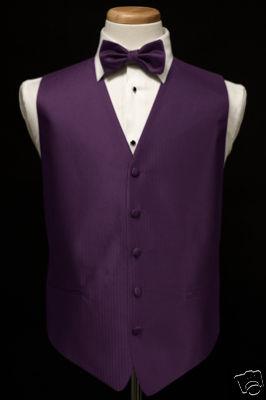 black tuxedo with purple vest car interior design