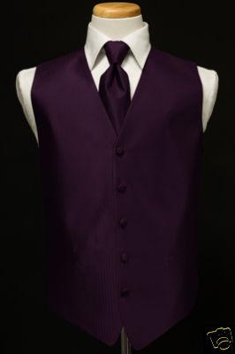 perfect10tuxedos new medium raisin purple tuxedo vest