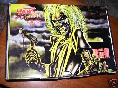 1397762756 mariannecanthardlywait   NIB VANS Iron Maiden KILLERS SK8-Hi OLD ...
