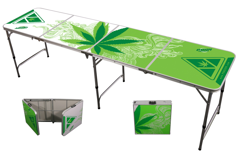 Thing 1 And Thing 2 8 Ft Greens Beer Pong Table