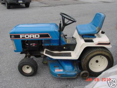 outdoorpoweredtnt yt16h ford lawn garden tractor 42 cut