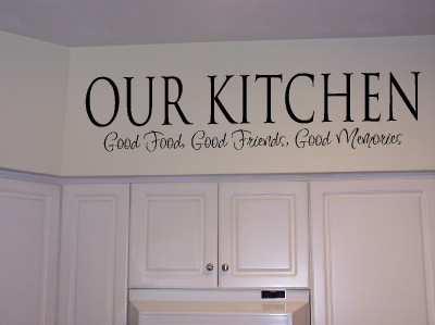 Xpresivdesigns Vinyl Wall Lettering Kitchen Food Quote