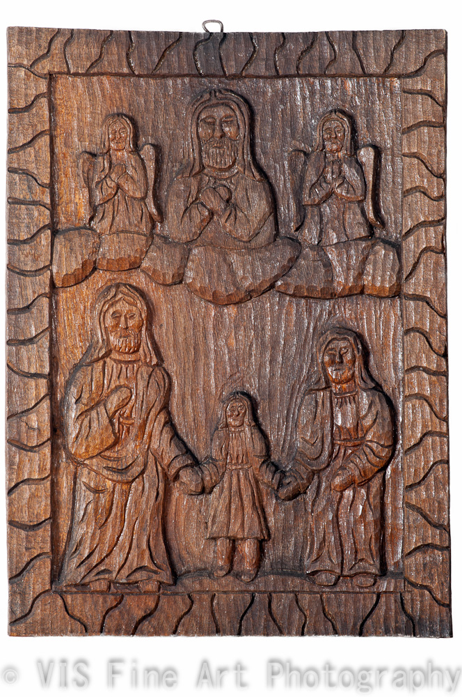 Vis fine art gallery quot holy family vintage naive or folk