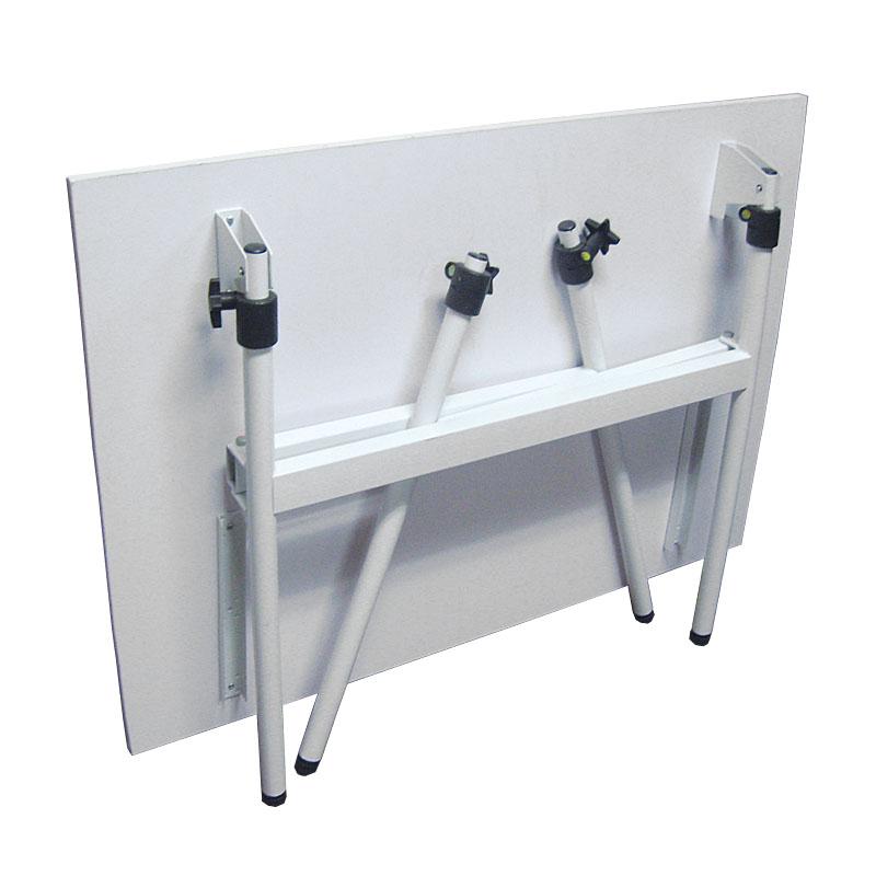 Berkeley pro fold away white art table with shelf ebay - Fold away table ...