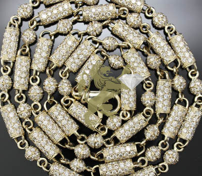 Gold Chainsomega Necklaceswhite Goldfine Gold Jewelry
