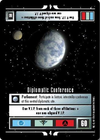 Diplomatic Conference Alternate Universe Star Trek