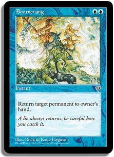 Boomerang Mirage Magic: The Gathering
