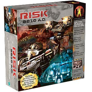 Avalon Hill Risk 2210 Boardgame