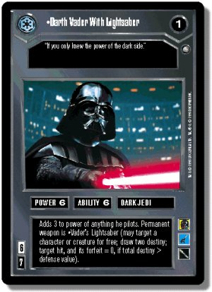 Darth Vader with Lightsaber FOIL Reflections II De