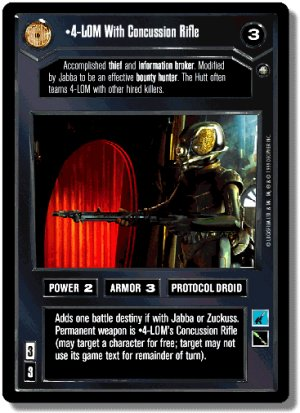 4-LOM With Concussion Rifle Enhanced Cloud City De