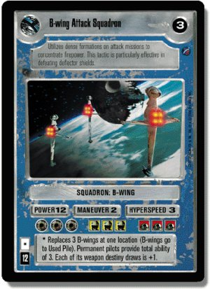 B-wing Attack Squadron FOIL Reflections II Deciphe