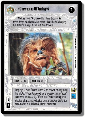 Chewbacca Of Kashyyyk FOIL
