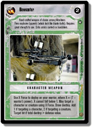 Bowcaster A New Hope Unlimited Decipher Star Wars