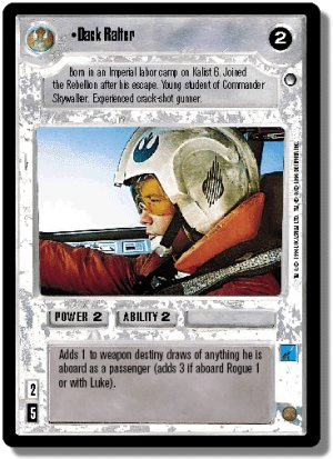 Dack Ralter Hoth Decipher Star Wars CCG