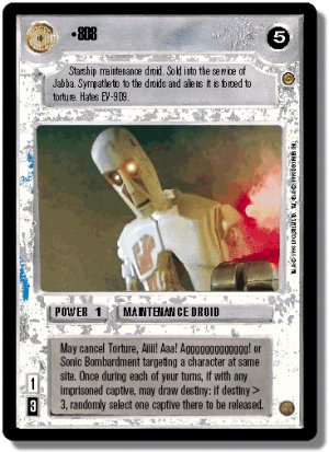 8D8 Jabba's Palace Decipher Star Wars CCG