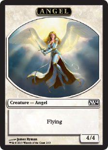 Angel Token Magic 2014 Magic: The Gathering
