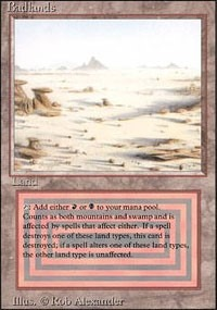 Badlands Revised Magic: The Gathering
