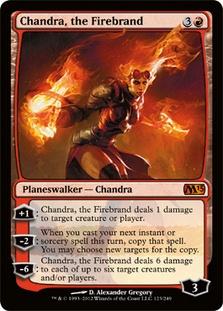 Chandra, the Firebrand 2013 Core Set Magic: The Ga