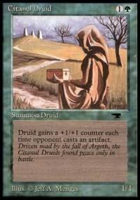 Citanul Druid Antiquities Magic: The Gathering