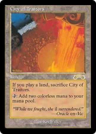 City of Traitors Exodus Magic: The Gathering