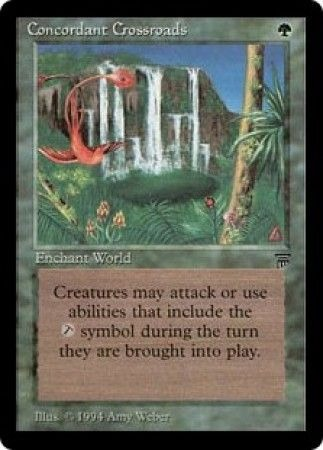 Concordant Crossroads Legends Magic: The Gathering