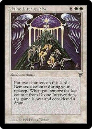 Divine Intervention Legends Magic: The Gathering
