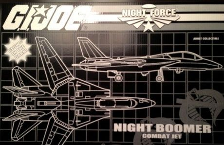 GI Joe Night Force Night Boomer JoeCon Exclusive