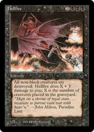 Hellfire Legends Magic: The Gathering