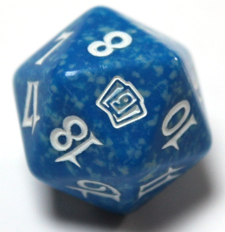 9th Edition Spin Down Life Counter - Blue