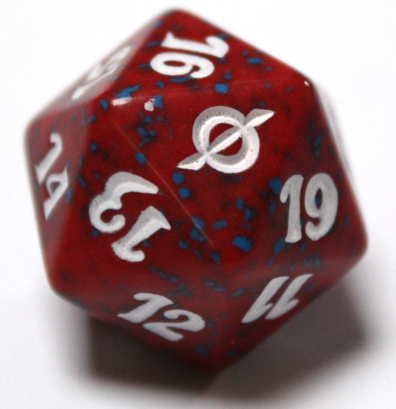 New Phyrexia Spin Down Life Counter - Red