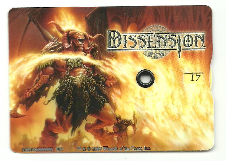 Dissension Life Counter Magic: The Gathering