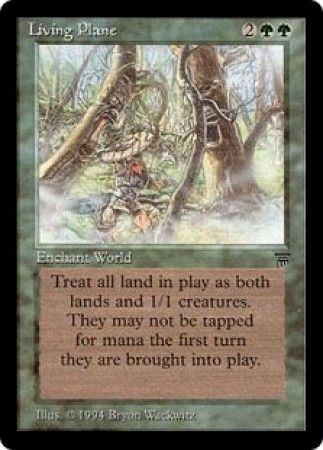Living Plane Legends Magic: The Gathering