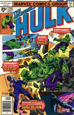 The Incredible Hulk #215