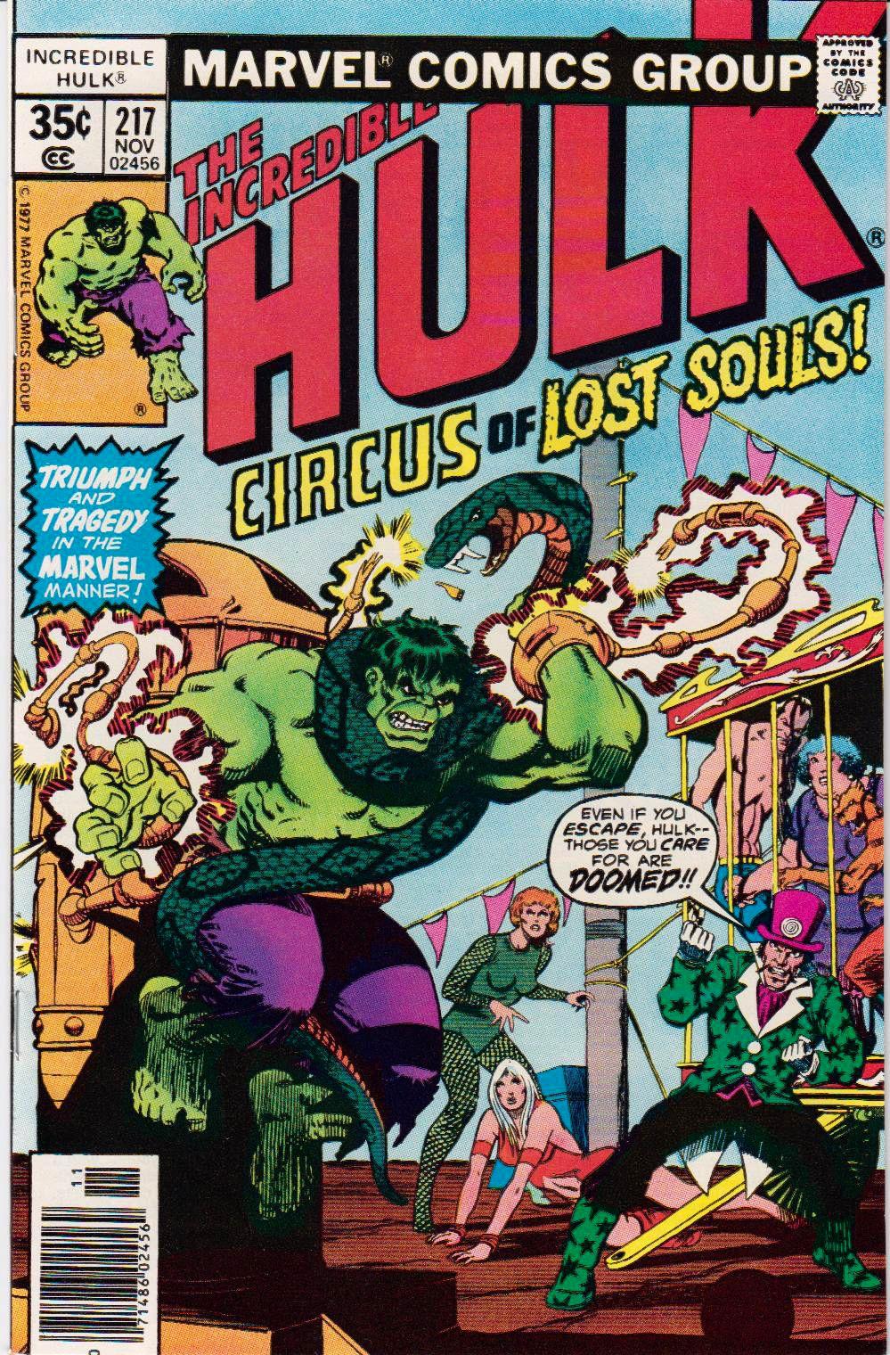 The Incredible Hulk #217