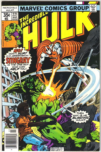 The Incredible Hulk #221